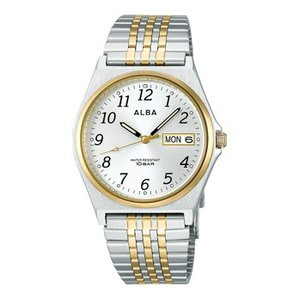 ALBA アルバ  男性用腕時計 AIGT002 ルミブライト付 メンズウオッチ 名入れ刻印対応、有料 取り寄せ品|morimototokeiten