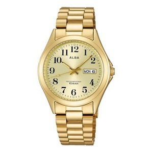 ALBA アルバ  男性用腕時計 AIGT006 ルミブライト付 メンズウオッチ 名入れ刻印対応、有料 取り寄せ品|morimototokeiten