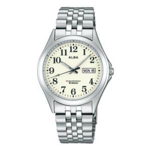 ALBA アルバ  男性用腕時計 AIGT007 ルミブライト付 メンズウオッチ 名入れ刻印対応、有料 取り寄せ品|morimototokeiten