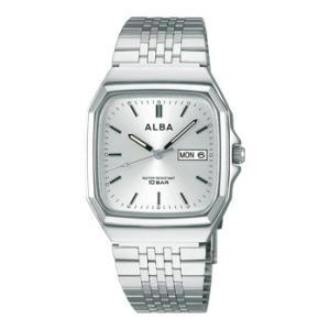 ALBA アルバ  男性用腕時計 AIGT011 ルミブライト付 メンズウオッチ 名入れ刻印対応、有料 取り寄せ品|morimototokeiten