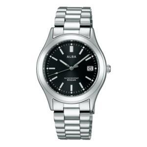ALBA アルバ  男性用腕時計 AIGT015 ルミブライト付 メンズウオッチ 名入れ刻印対応、有料 取り寄せ品|morimototokeiten