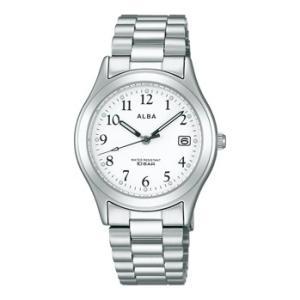 ALBA アルバ  男性用腕時計 AIGT016 ルミブライト付 メンズウオッチ 名入れ刻印対応、有料 ZAIKO|morimototokeiten