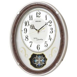 セイコー メロディー電波掛時計 SEIKOウェーブシンフォニー AM259B 文字入れ名入れ対応、有料 取り寄せ品|morimototokeiten