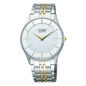 薄型 ソーラー 男性用 腕時計 メンズウオッチ シチズン CITIZEN AR3014-56A 刻印対応、有料 取り寄せ品|morimototokeiten