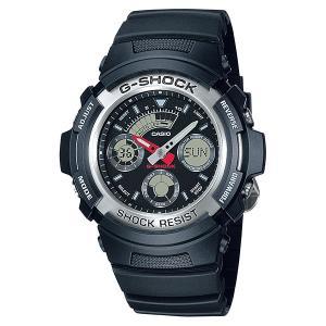 カシオ Gショック AW-590-1AJF CASIO G-SHOCK メンズ腕時計 アナデジ 国内正規品 刻印対応、有料 morimototokeiten