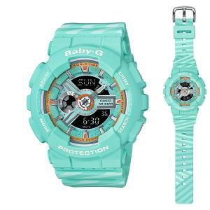 カシオ ベビーG BA-110CH-3AJF 女性用腕時計 CASIO Baby-G 国内正規品 10文字まで刻印対応、有料 取り寄せ品|morimototokeiten