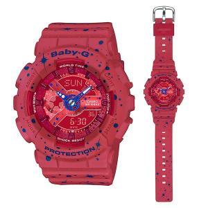 カシオ ベビーG BA-110ST-4AJF 女性用腕時計 CASIO Baby-G 国内正規品 取り寄せ品|morimototokeiten