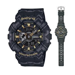 CASIO Baby-G カシオ ベビーG 女性用 腕時計 BA-110TP-1AJF 国内正規品 取り寄せ品|morimototokeiten