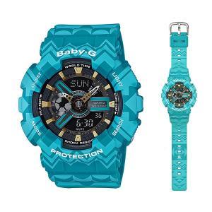 CASIO Baby-G カシオ ベビーG 女性用 腕時計 BA-110TP-2AJF 国内正規品 取り寄せ品|morimototokeiten