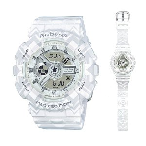 CASIO Baby-G カシオ ベビーG 女性用 腕時計 BA-110TP-7AJF 国内正規品 取り寄せ品|morimototokeiten