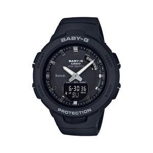 スマホと連携 歩数計付き 女性用 腕時計 カシオ ベビーG BSA-B100-1AJF CASIO Baby-G デジアナ 国内正規品  取り寄せ品|morimototokeiten