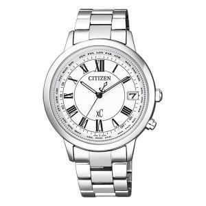 シチズン クロスシー CB1100-57A エコドライブ 電波時計 腕時計 レディース ティタニア ライン 名入れ刻印対応、有料 取り寄せ品|morimototokeiten