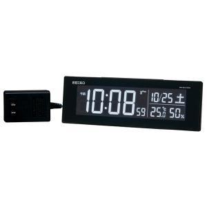 セイコー SEIKO AC100V 交流式 デジタル 電波時計 目覚まし時計 電子音 アラーム DL305K 名入れ対応、有料 取り寄せ品|morimototokeiten