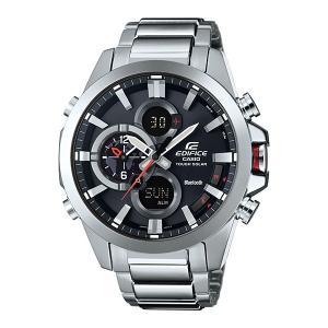 携帯電話スマホと連携で時刻修正 ECB-500D-1AJF ソーラー メンズ腕時計 カシオ エディフィス 取り寄せ品|morimototokeiten