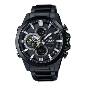 携帯電話スマホと連携で時刻修正 ECB-500DC-1AJF ソーラー メンズ腕時計 カシオ エディフィス 取り寄せ品|morimototokeiten