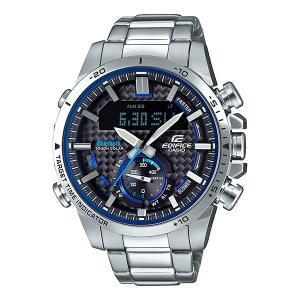 携帯電話スマホと連携で時刻修正 ECB-800D-1AJF ソーラー メンズ腕時計 カシオ エディフィス 取り寄せ品|morimototokeiten