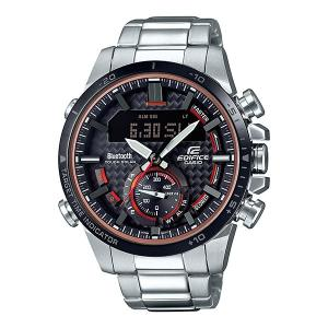 携帯電話スマホと連携で時刻修正 ECB-800DB-1AJF ソーラー メンズ腕時計 カシオ エディフィス 取り寄せ品|morimototokeiten