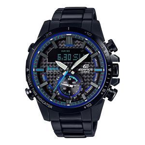 携帯電話スマホと連携で時刻修正 ECB-800DC-1AJF ソーラー メンズ腕時計 カシオ エディフィス 取り寄せ品|morimototokeiten