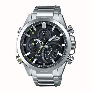 携帯電話スマホと連携で時刻修正 EQB-501D-1AJF ソーラー メンズ腕時計 カシオ エディフィス 取り寄せ品|morimototokeiten