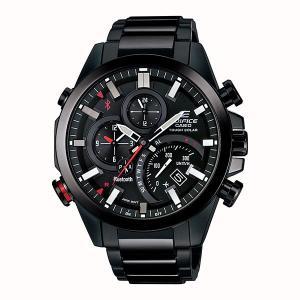 携帯電話スマホと連携で時刻修正 EQB-501DC-1AJF ソーラー メンズ腕時計 カシオ エディフィス 取り寄せ品|morimototokeiten