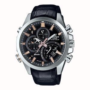 携帯電話スマホと連携で時刻修正 EQB-501L-1AJF ソーラー メンズ腕時計 カシオ エディフィス 取り寄せ品|morimototokeiten