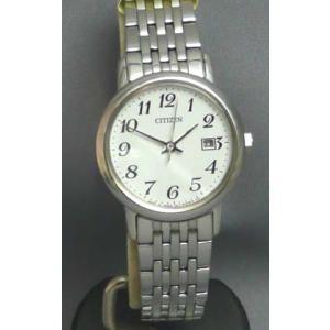 シチズン ソーラー女性用腕時計 フォルマ EW1580-50B  名入れ刻印対応、有料 取り寄せ品|morimototokeiten