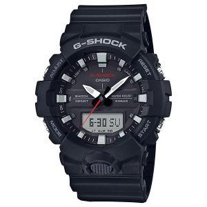 カシオ Gショック GA-800-1AJF 秒針付き CASIO G-SHOCK メンズ腕時計 アナデジ 国内正規品 刻印対応、有料 取り寄せ品 morimototokeiten
