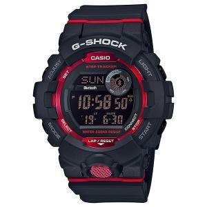 スマホと連携 歩数計測機能 カシオ Gショック メンズ 腕時計 G-SQUAD GBD-800-1JF 国内正規品 刻印対応、有料 取り寄せ品 morimototokeiten