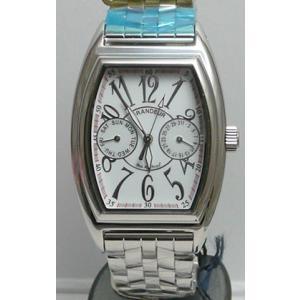 グランドール 男性用腕時計 GSX010W1 紳士用 時計 GRANDEUR 名入れ刻印対応、有料 ZAIKO|morimototokeiten