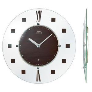 セイコー SEIKO 球面ガラスの薄型電波掛け時計 エンブレム EMBLEM HS529B 文字入れ対応、有料 取り寄せ品|morimototokeiten