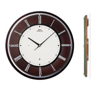 壁掛け時計 セイコー SEIKO 電波時計 エンブレム EMBLEM HS540B 文字入れ対応、有料 送料無料 取り寄せ品|morimototokeiten