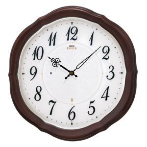 壁掛け時計 セイコー SEIKO 電波時計 エンブレム EMBLEM HS544B 文字入れ対応、有料 取り寄せ品|morimototokeiten