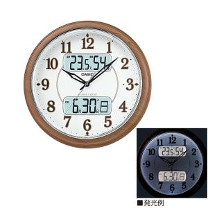 メロディ 鳥のさえずり 壁掛け時計 ライト付 カレンダー付 電波時計 ITM-900FLJ-5JF 取り寄せ品|morimototokeiten