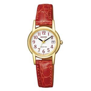 シチズン ソーラー時計 KH4-823-90 革バンド 女性用 腕時計 CITIZEN レグノREGUNO 取り寄せ品|morimototokeiten