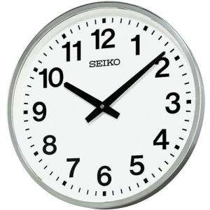 セイコー 屋外・防雨型かけ時計 オフィスクロックKH411S 取り寄せ品 morimototokeiten
