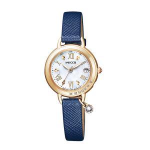シチズン ソーラー電波時計 ウィッカ KL0-821-10 女性用 腕時計 CITIZEN Wicca レディースウオッチ ZAIKO|morimototokeiten
