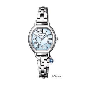 シンデレラ 限定モデル シチズン ウイッカ KP2-515-71 ソーラー時計 女性用腕時計 wicca|morimototokeiten