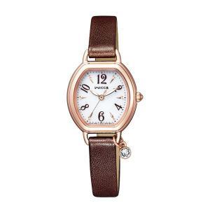 シチズン ソーラー時計 ウイッカ KP2-566-10 女性用 腕時計 革バンド wicca 名入れ刻印対応、有料 取り寄せ品|morimototokeiten