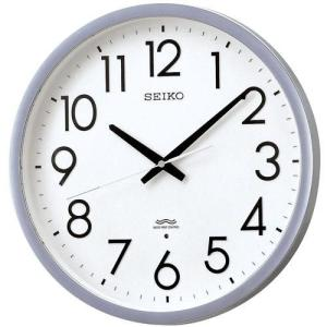 セイコー 電波時計 SEIKO 壁掛け時計 オフィス クロック KS265S 文字入れ対応、有料 取り寄せ品 morimototokeiten