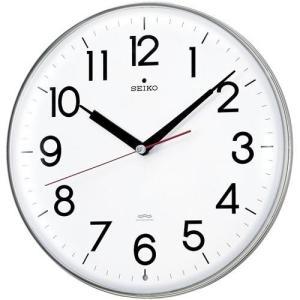 壁掛け時計 暗くなると音の静かな電波時計 KX301H セイコー SEIKO 文字入れ対応、有料 取り寄せ品 morimototokeiten