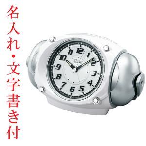 名入れ時計 文字入れ付き セイコー SEIKO 大音量ベル音目覚まし時計 NR438W スーパーライデン 取り寄せ品 代金引換不可|morimototokeiten