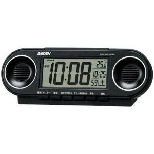 セイコー SEIKO 電子音アラーム音目覚まし時計 NR531K ライデン 文字入れ名入れ対応、有料 取り寄せ品|morimototokeiten