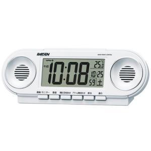 セイコー SEIKO 電子音アラーム音目覚まし時計 NR531W ライデン 文字入れ名入れ対応、有料 取り寄せ品|morimototokeiten