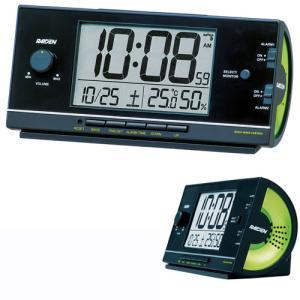 セイコー SEIKO 大音量の電子音アラーム音目覚まし時計 NR534K ライデン 文字入れ名入れ対応、有料 取り寄せ品|morimototokeiten