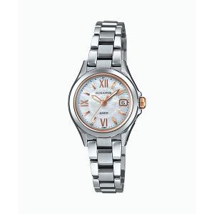 カシオ CASIO ソーラー 電波時計 レディース 女性用 腕時計 オシアナス OCEANUS OCW-70PJ-7A2JF 取り寄せ品|morimototokeiten