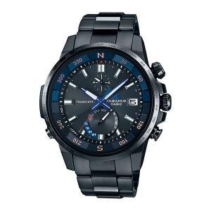 カシオ CASIO ソーラー 電波時計 OCW-P1000B-1AJF メンズ 男性用 腕時計 オシアナス OCEANUS 取り寄せ品|morimototokeiten