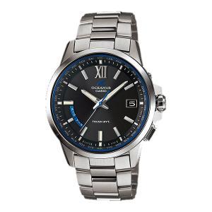 カシオ CASIO ソーラー 電波時計 メンズ 男性用 腕時計 オシアナス OCEANUS OCW-T150-1AJF「取り寄せ品」