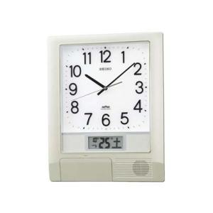 セイコー 任意の時刻にメロディ 電波時計 プログラムクロックかけ時計PT201S 文字入れ不可 取り寄せ品 morimototokeiten