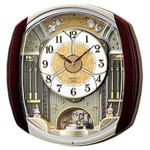 セイコー からくり時計 メロディー電波時計ウェーブシンフォニーRE564H  文字入れ対応、有料 取り寄せ品|morimototokeiten