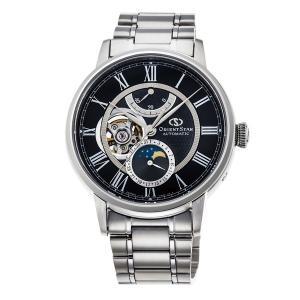 自動巻 腕時計 メンズ メカニカルムーンフェイズ オリエントスター ORIENTSTAR 男性用 RK-AM0004B 取り寄せ品|morimototokeiten